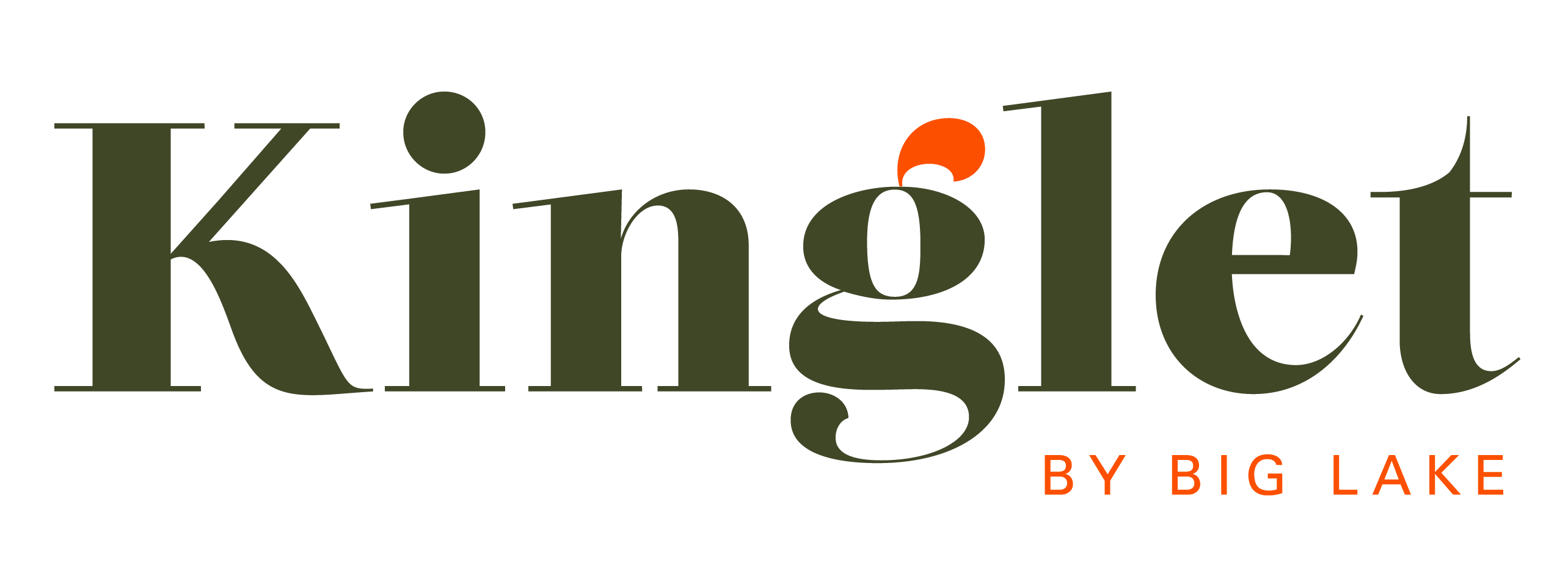 Kinglet by Big Lake Logo