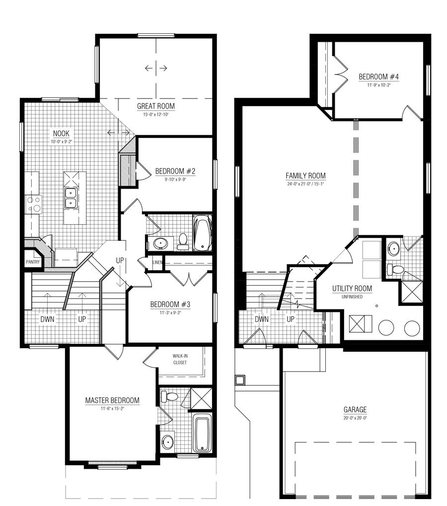 mungo homes floor plans  mungo homes underwood floor plan