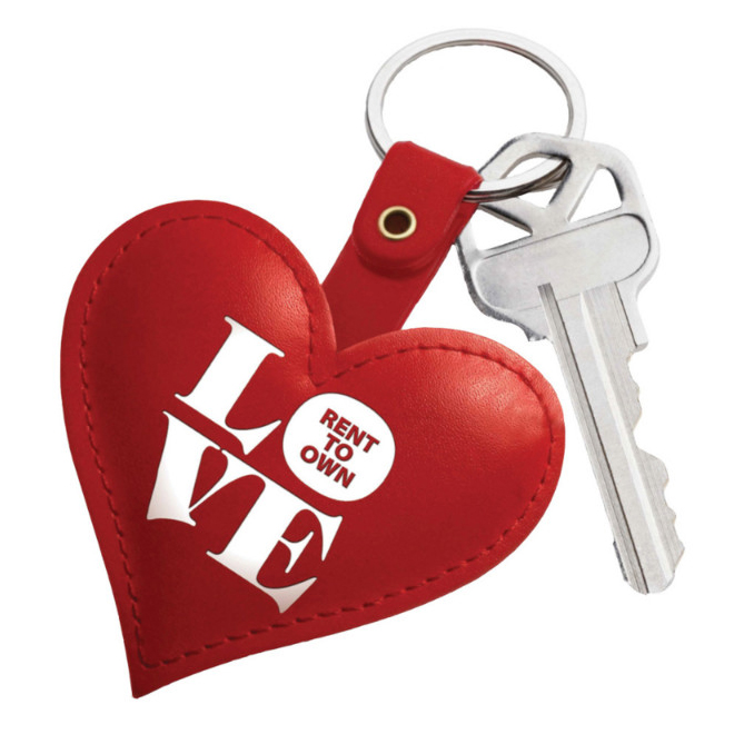 Keychain with Rent to Own Logo